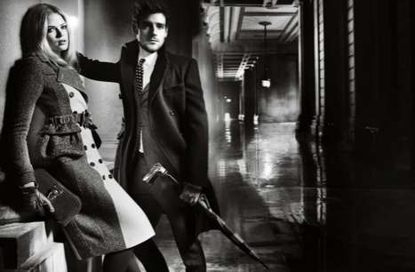 Burberry Fall 2012 campaign