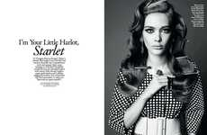 Songstress-Inspired Editorials - The Style Singapore Photoshoot Pays Homage to Lana Del Ray