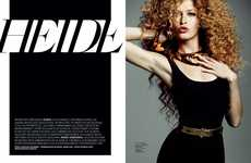 Wildly Curly Editorials
