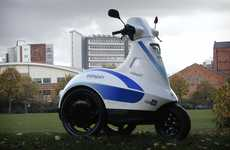 Speedy Three-Wheeled Segways - The Ecospin Raptor Makes Long Walks Easier to Managae