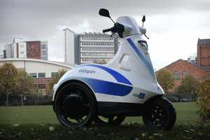 The Ecospin Raptor Makes Long Walks Easier to Managae