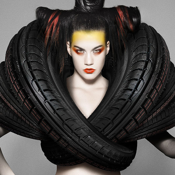 Titillating Tire-Couture Ads