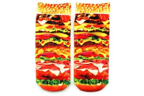 neatoshop burger socks