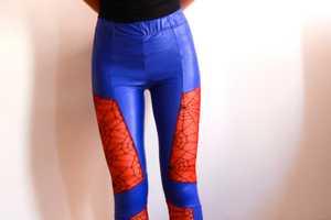 These Spider-Man Pattern Leggings Help Women Be Geek Chic