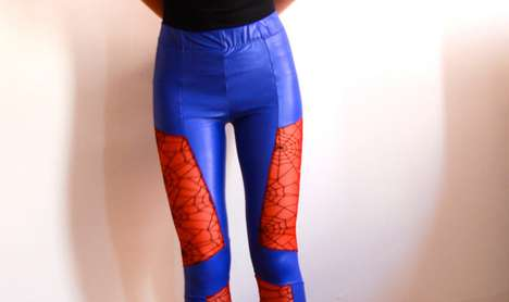 Spider-Man pattern leggings