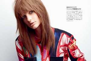 The Numero Tokyo 58th Issue Features Patricia Van Der Vliet