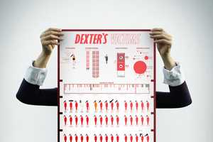 The Dexter's Victims Infographic Traces the Protagonist's Susp