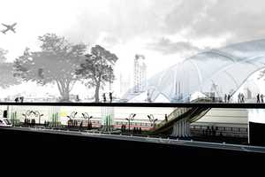 The Tree-inspired Station by Yizhar Galmidi and Eliran Yaksein is Green