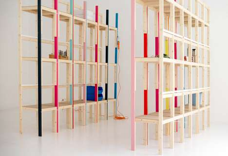 Latten Shelving Unit