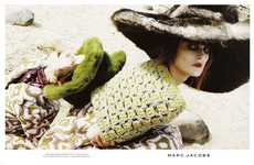 Haunting Victorian-Like Ads - The Marc Jacobs Fall 2012 Campaign Features a Different Kind of Beauty