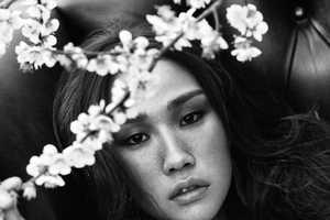 The Harper's Bazaar Korea 'Full Bloom' Editorial is Dainty