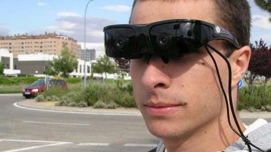 Virtual Reality Sight-Improving Glasses