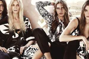 The Etro Spring/Summer 2012 Advertisements are Mattress-Bound