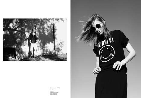 Grunge Enthusiast Editorials - The Ssaw Magazine