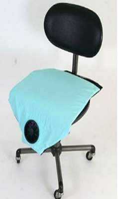 Air Conditioned Padding - The Aero Seat Cooling Cushion Keeps You Feeling Fresh