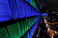 Massive Interactive Solar Shows - 'Luminous' by Klik Systems is the Largest Light Instal