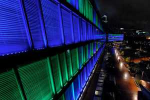 'Luminous' by Klik Systems is the Largest Light Instal