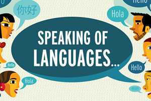 The 'Speaking of Languages' Infograph Highlights Leading Dialects
