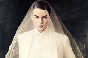 The Elle Sweden May 2012 Photoshoot Displays Odd Wedding Looks