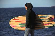 Recycled Deck Surfboards