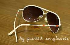 DIY Shade Designs - 'Her New Leaf' Blog Shows How to Easily Spruce up Any Sunglasses