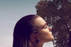 Jessica Stam for Vogue Hellas June 2012 is Bejewelled