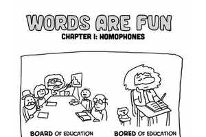 The Pablo Stanley 'Words are Fun' Graphics are Homophonic