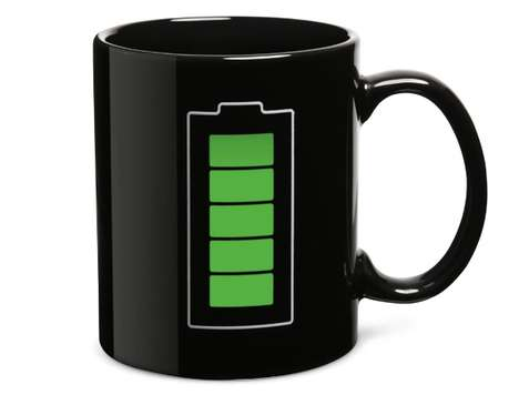 Powered-up Cups - The ThinkGeek Battery Thermokruzkhus Mug is Geeky