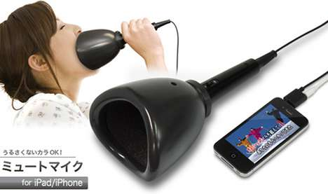 Noise-Muffling Singing Sets - The Noiseless USB Karaoke Mic Lets You Sing in Peace