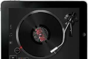 The Vinyl Tap for iPad Lets You Kick it Old School