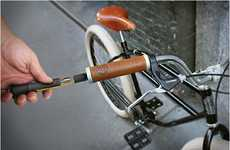 Hidden Bicycle Tools - The InCog Biketool Keeps Your Gadgets Out of Sight