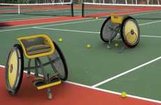Agile Assistive Seating - Wheelchair by Mariana Bradichansky Enables Disabled Kids to Play Sports