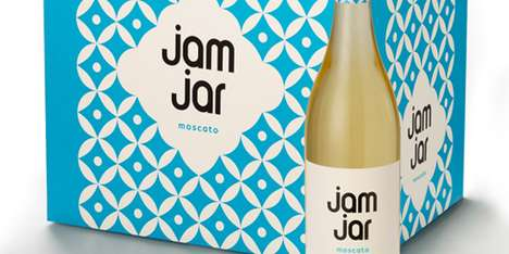 Jam Jar Wine Packaging