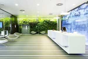 The Microsoft Vienna Headquarters by INNOCAD Architektur is Lush
