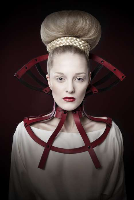 Reimagined Renaissance Photoshoots - The 'CEXN Accessories' Series is Dark and Graceful