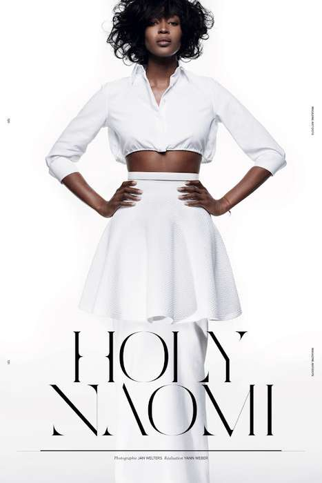Textured Ivory Editorials - The Antidote Magazine Spring/Summer 2012 Campbell Photoshoot is Ashen