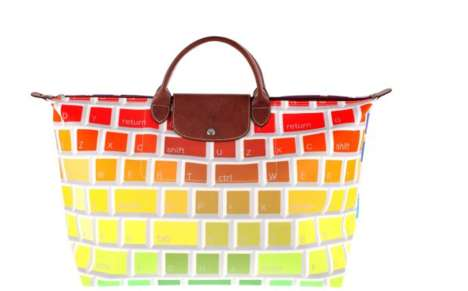 travel bag by jeremy scott and longchamp