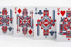 Geeky Gamers Will Love the Theory 11 'Robocycle' Playing Cards