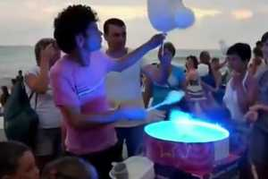 The 'Cotton Candy Dancing Pro' Video is Addicting and Unusual