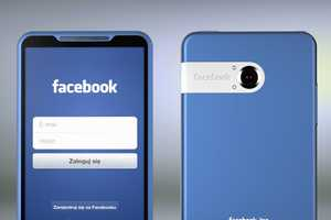 The Facebook Phone Enters the Market With a Blue Bang