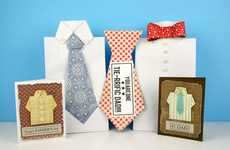 DIY Giftable Paper Blouses - The FISKARS Father's Day Gift Bags Are Easy to Make & Impressionable