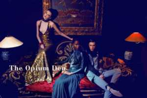 The Opium Den by Alice Luker at the Blake Hotel is Sensuous