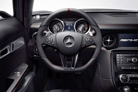 Enhanced Luxury Supercars - The 2013 Mercedes-Benz SLS AMG GT is Trimmed to Perfection