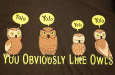 Pop Culture Parody Gear - These 'YOLO' T-Shirts are Satirical Yet Appropriate