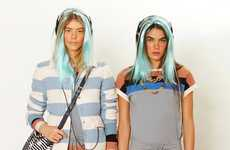 Pastel-Dyed Hair Lookbooks - The Marc By Marc Jacobs Resort 2013 Collection is Excessively Youthful