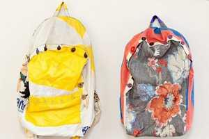 The Annika Blomberg 'Anschtecka' Backpacks are Distinctively Designed