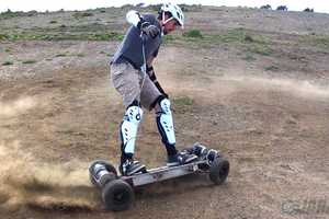 The Gnarboard Electric Skateboard is a Speedy Mode of Transport