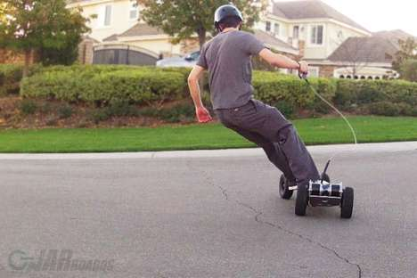 Gnarboard electric skateboard