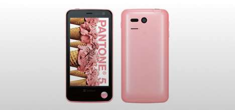 Radiation-Detecting Smartphones - The Pantone 5 107SH Can Measure and Maps Gamma Rays