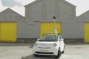 The Toyota iQ Street View Fills in What Google Missed